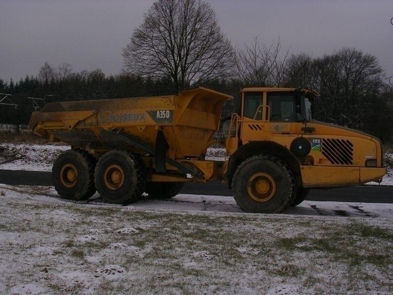 Reparatie van vrachtwagens en dumpers