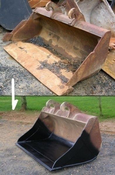 Réparation d'équipements pour minipelles et pelles hydrauliques